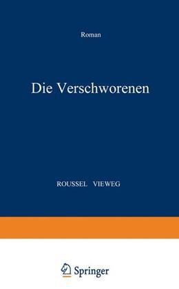 Abbildung von Roussel | Die Verschworenen | 1939 | Roman