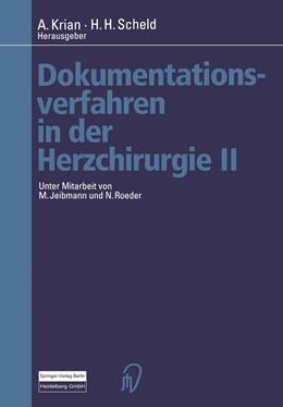 Abbildung von Krian / Scheld | Dokumentationsverfahren in der Herzchirurgie II | 2012