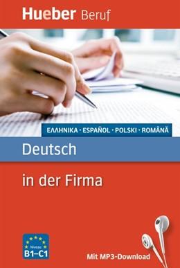 Abbildung von Hering / Forßmann | Berufssprachführer: Deutsch in der Firma | 2014 | Griechisch, Spanisch, Polnisch...