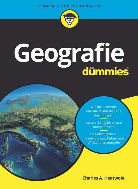 Geografie für Dummies, 2017 | Buch (Cover)