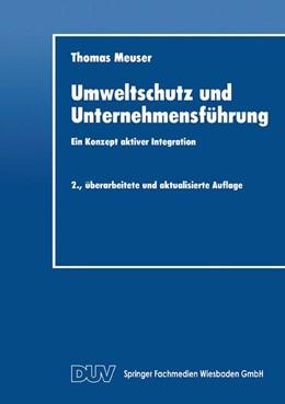Abbildung von Umweltschutz und Unternehmensführung | 2. Auflage | 2014 | 2 | beck-shop.de