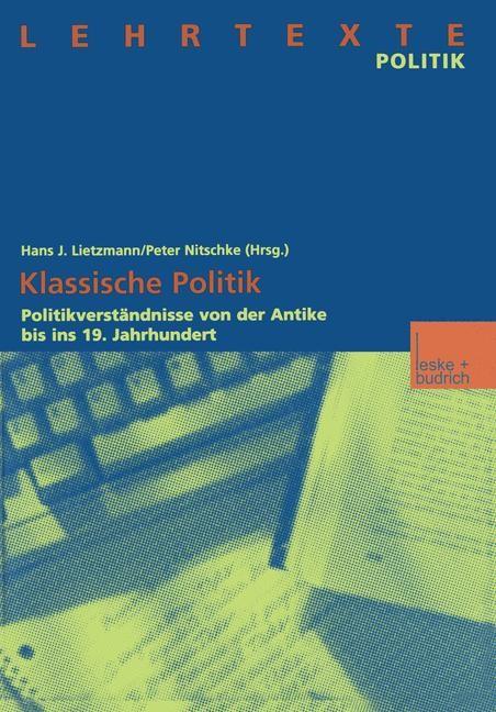 Klassische Politik | Lietzmann / Nitschke, 2000 | Buch (Cover)