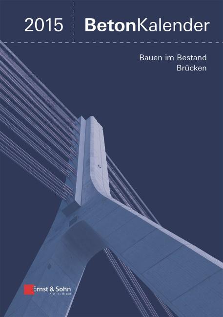 Beton-Kalender 2015 | Bergmeister / Fingerloos / Wörner, 2014 | Buch (Cover)