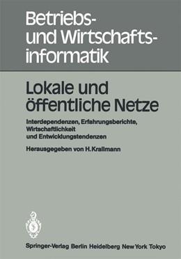 Abbildung von Krallmann | Lokale und öffentliche Netze | 1984 | Interdependenzen, Erfahrungsbe... | 10