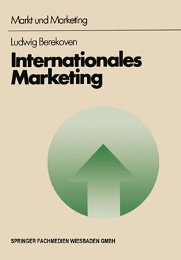 Abbildung von Berekoven | Internationales Marketing | 1. Auflage | 1978 | beck-shop.de