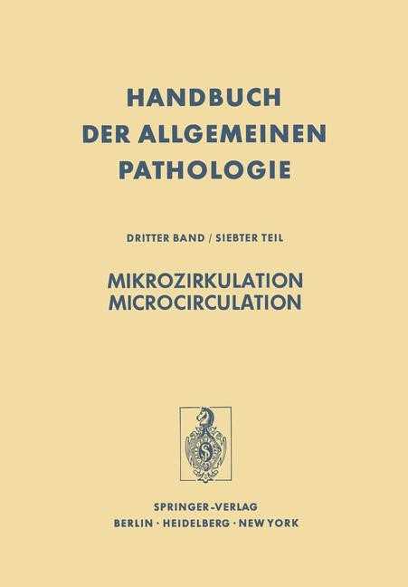 Mikrozirkulation / Microcirculation | Boutet / Fuchs / Gaethgens, 2011 | Buch (Cover)