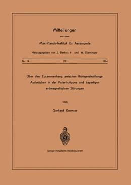 Abbildung von Kremser | Über den Zusammenhang Zwischen Röntgenstrahlungs-Ausbrüchen in der Polarlichtzone und Bayartigen Erdmagnetischen Störungen | 1964