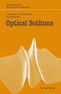 Abbildung von Abdullaev / Darmanyan / Khabibullaev | Optical Solitons | 2014