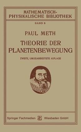 Abbildung von Meth | Theorie der Planetenbewegung | 1921 | 8