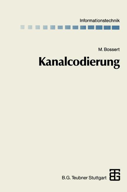 Kanalcodierung | Bossert / Fliege, 2014 | Buch (Cover)