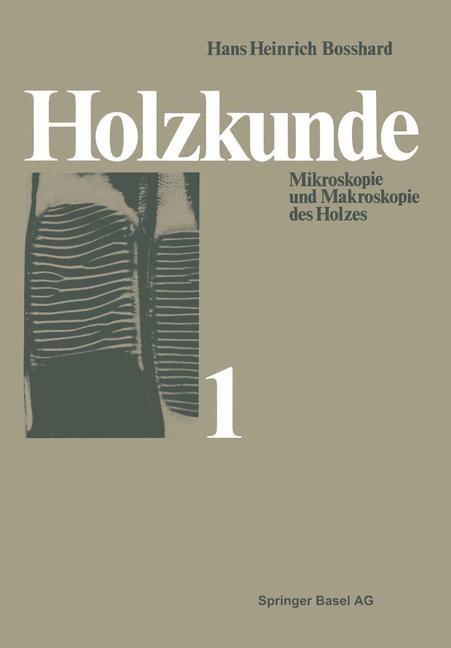 Holzkunde | Bosshard, 2014 | Buch (Cover)