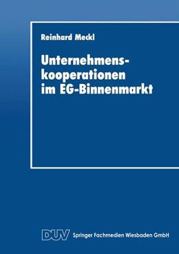 Abbildung von Unternehmenskooperationen im EG-Binnenmarkt | 1. Auflage | 2014 | beck-shop.de