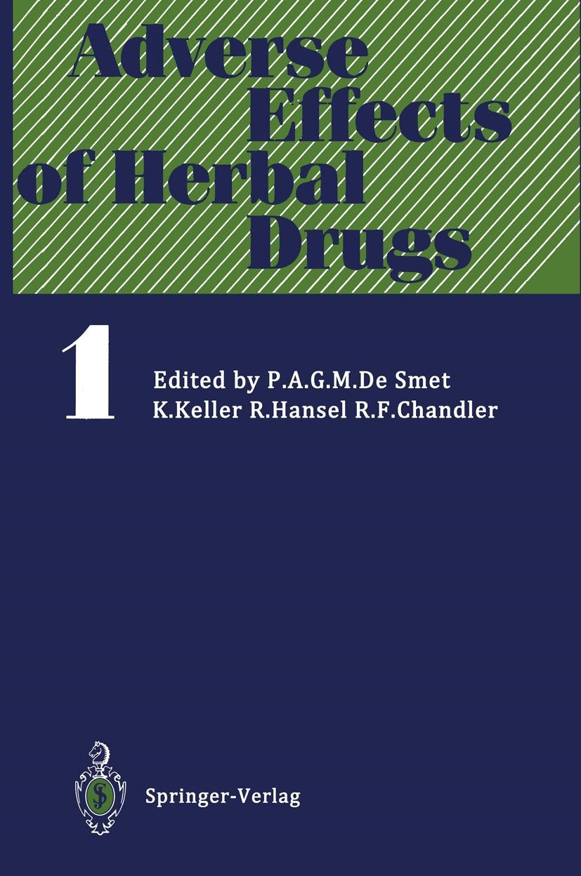 Adverse Effects of Herbal Drugs, 1992 | Buch (Cover)