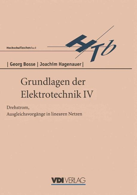 Grundlagen der Elektrotechnik IV | Bosse, 1996 | Buch (Cover)