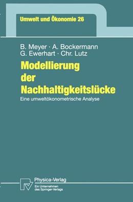 Abbildung von Meyer / Bockermann / Ewerhart | Modellierung der Nachhaltigkeitslücke | 1998 | Eine umweltökonometrische Anal... | 26