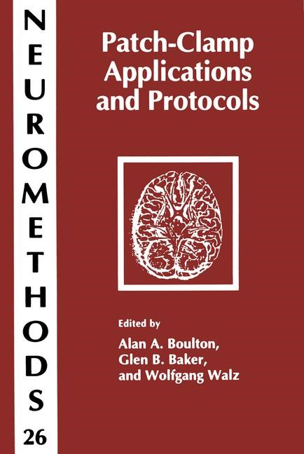 Patch-Clamp Applications and Protocols | Boulton / Baker / Walz, 2013 | Buch (Cover)