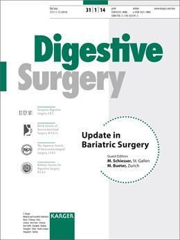 Abbildung von Schiesser / Bueter   Update in Bariatric Surgery   2014   Special Topic Issue: Digestive...