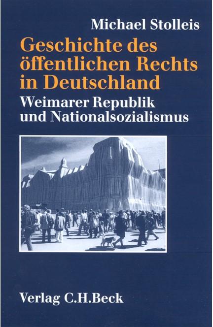 Cover: Michael Stolleis, Geschichte des öffentlichen Rechts in Deutschland