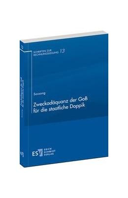 Abbildung von Sossong | Zweckadäquanz der GoB für die staatliche Doppik | 1. Auflage | 2014 | 13 | beck-shop.de