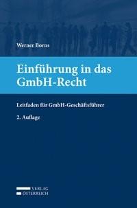 Einführung in das GmbH-Recht   Borns, 2014   Buch (Cover)