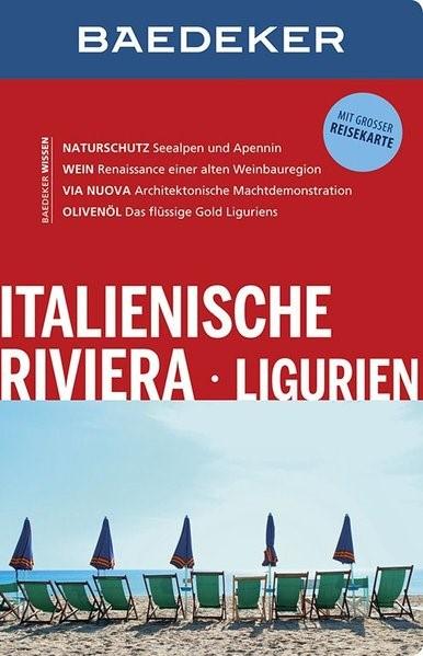 Baedeker Reiseführer Italienische Riviera, Ligurien | Abend | 10. Auflage, 2014 | Buch (Cover)