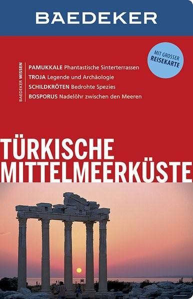 Baedeker Reiseführer Türkische Mittelmeerküste | Bourmer | 12. Auflage, 2014 | Buch (Cover)