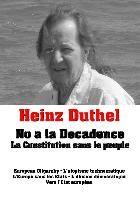 Heinz Duthel: No a la Decadence | Duthel | 1. Auflage., 2014 | eBook (Cover)