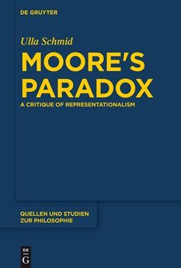 Abbildung von Schmid   Moore's Paradox   2014   A Critique of Representational...   124
