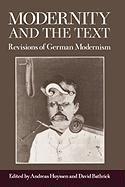 Abbildung von Huyssen / Bathrick | Modernity and the Text | 1989