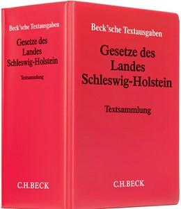 Abbildung von Gesetze des Landes Schleswig-Holstein   34. Auflage   2019
