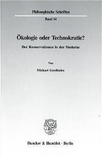 Abbildung von Großheim | Ökologie oder Technokratie? | 1995