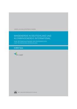 Abbildung von Kauz / Brandt / Simon | Windenergie in Deutschland und Kleinwindenergie international | 2014 | Eine Bestandsaufnahme der ökon...