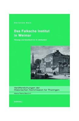 Abbildung von Hain | Das Falksche Institut in Weimar | 1. Auflage | 2014 | beck-shop.de