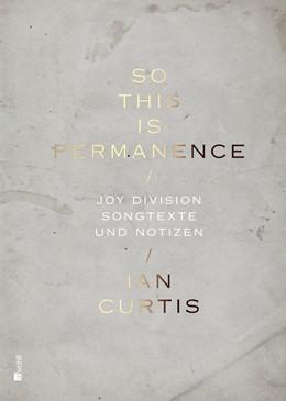 Abbildung von Curtis / Savage   So This Is Permanence   1. Auflage   2015   beck-shop.de