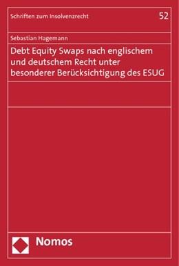 Abbildung von Hagemann   Debt Equity Swaps nach englischem und deutschem Recht unter besonderer Berücksichtigung des ESUG   1. Auflage   2014   52   beck-shop.de