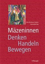 Mäzeninnen | Bortoluzzi Dubach / Frey, 2014 | Buch (Cover)
