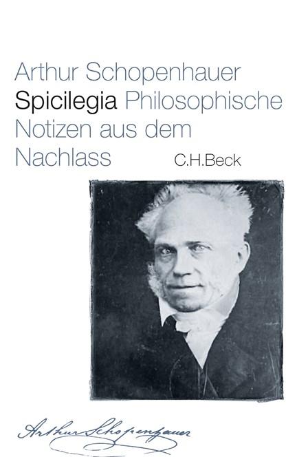 Cover: Arthur Schopenhauer, Spicilegia