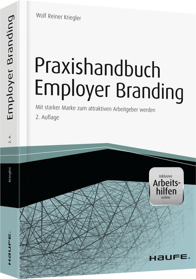 Praxishandbuch Employer Branding | Kriegler | 2. Auflage, 2014 (Cover)
