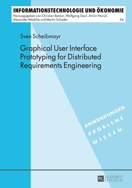 Abbildung von Scheibmayr | Graphical User Interface Prototyping for Distributed Requirements Engineering | 2014 | 54