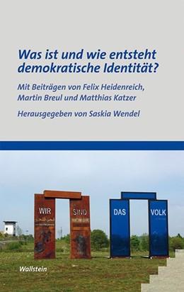 Abbildung von Wendel | Was ist und wie entsteht demokratische Identität? | 2014 | 7