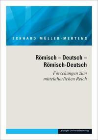 Ausgewählte Schriften in fünf Bänden / Römisch – Deutsch – Römisch-Deutsch | Müller-Mertens, 2014 | Buch (Cover)