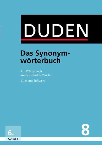 Duden - Das Synonymwörterbuch (Cover)
