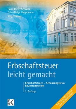 Abbildung von Drobeck   Erbschaftsteuer - leicht gemacht   2. Auflage   2014   beck-shop.de