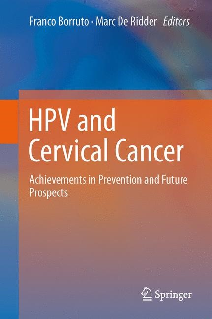 HPV and Cervical Cancer | Borruto / De Ridder, 2014 | Buch (Cover)