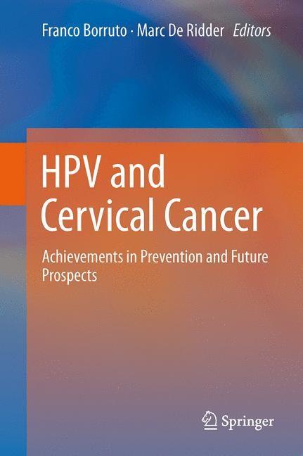 Abbildung von Borruto / De Ridder | HPV and Cervical Cancer | 2014