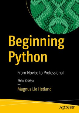 Abbildung von Hetland | Beginning Python | 3rd ed. | 2017 | From Novice to Professional