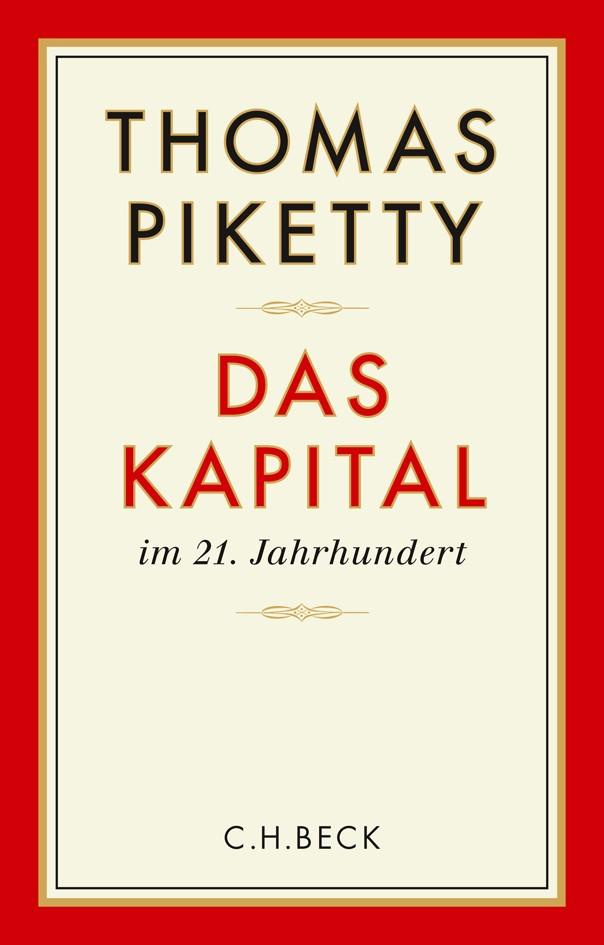 Das Kapital im 21. Jahrhundert | Piketty, Thomas | 8. Auflage, 2014 | Buch (Cover)