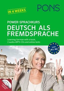 Abbildung von PONS Power-Sprachkurs Deutsch als Fremdsprache | 2014 | Learning German with a book, 2...