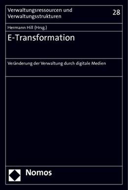 Abbildung von Hill | E-Transformation | 2014 | Veränderung der Verwaltung dur... | 28