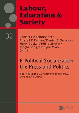 Abbildung von De Landtsheer / Farnen | E-Political Socialization, the Press and Politics | 1. Auflage | 2014 | 32 | beck-shop.de